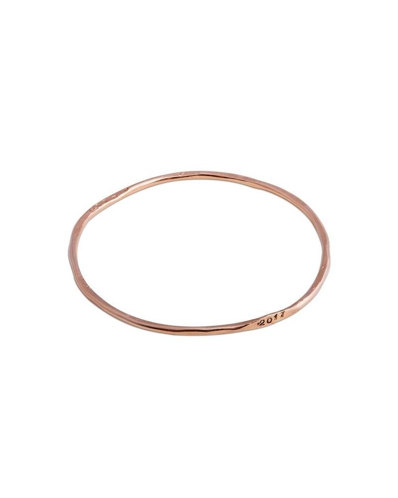 vendita economica eccezionale gamma di colori il migliore Filodellavita - Numeri e Parole Bracciale dell'anno tondo in Oro Rosa 9 kt  BR44R
